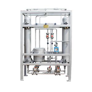 No heat regeneration molecular sieve high pressure dryer