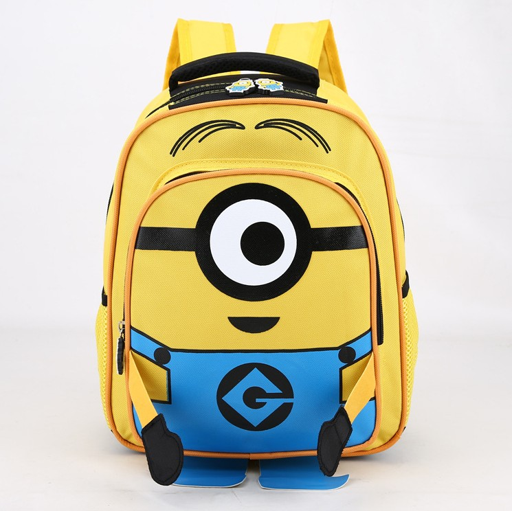 3D cartoon school bag