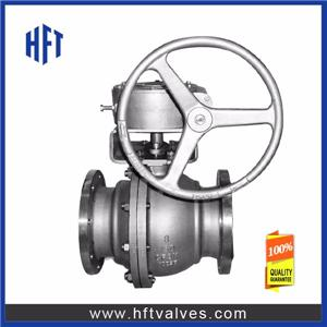 Gear Operated Floating Ball Valves