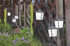 Retro Solar Light Stake
