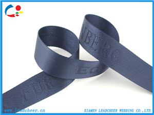 Nylon jacquard bag belts