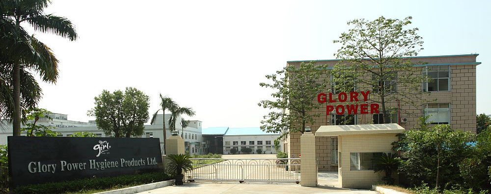 Sanitary napkin factory -Glory Power Hygiene Products Ltd.