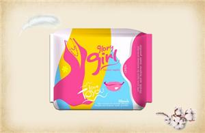 Female cotton sanitary pads brand