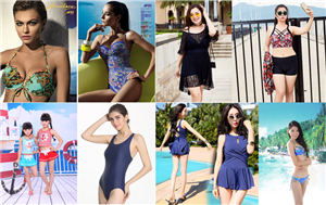 We design and produce a variety of swimsuit