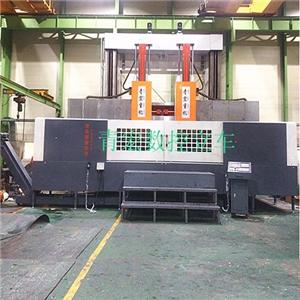 Numerical Control Double Column Vertical Car