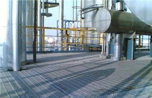 Chemical Plant Platform Steel Grating