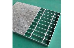 Interlacing Steel Grating