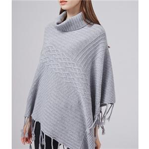 Poncho Made By Edible Cashmere Yarn