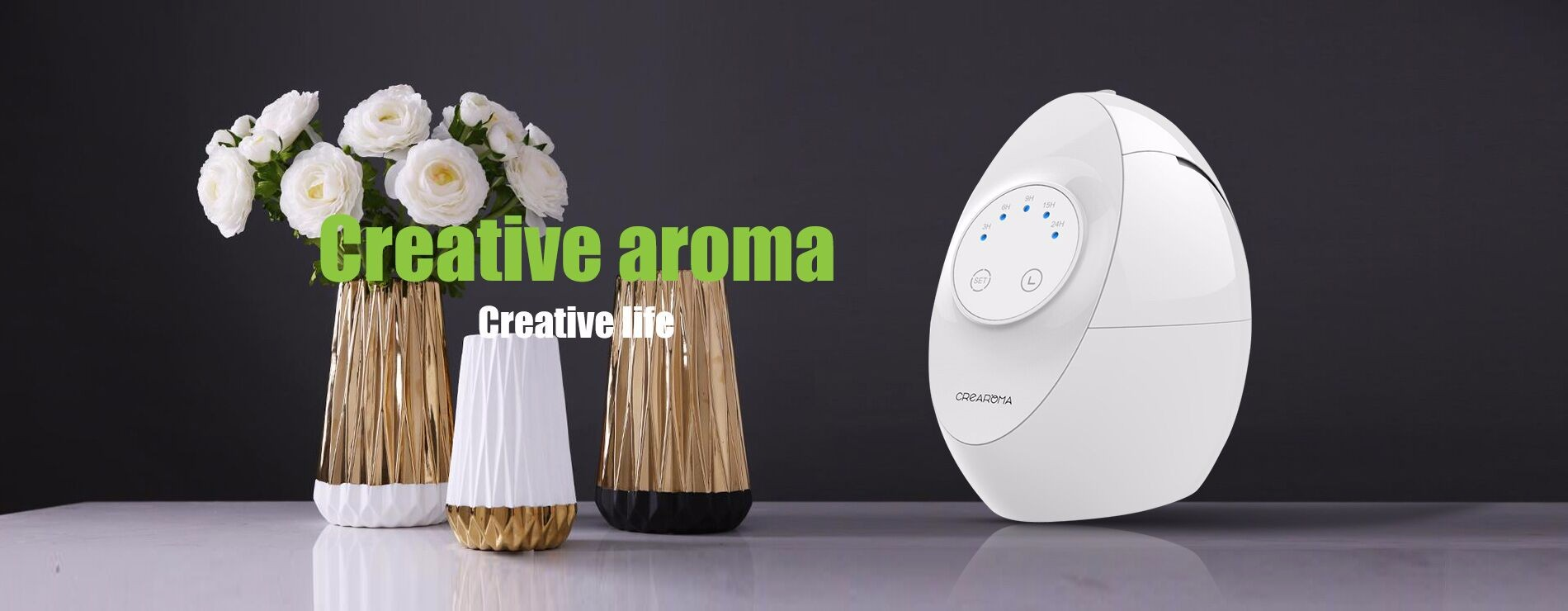 Home use mini aroma essential oil diffuser