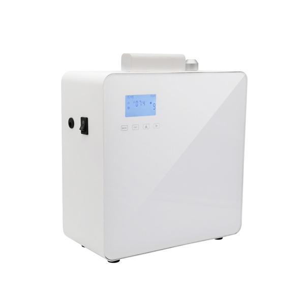 Acrylic touch panel scent air machine for sale