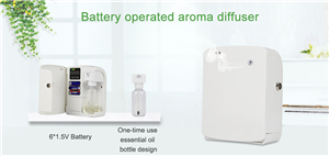 Crearoma 2018 New Battery Operated Aroma Machine
