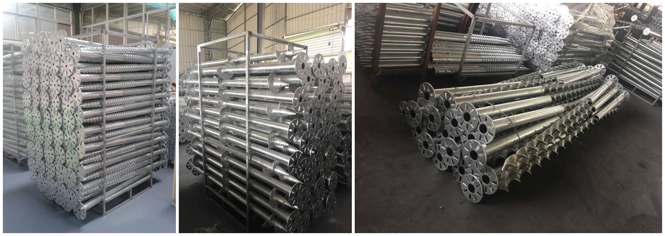 Helical Piers Screw Pile