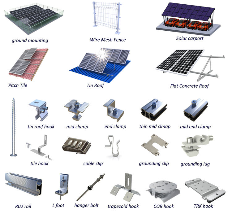 Standing Seam Metal Roof Solar Panel Mounting System,Metal Roof Solar Panel Mounting System,Standing Seam Metal Roof Solar Panel Mounting