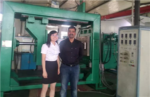 Overseas installation insulator making machine