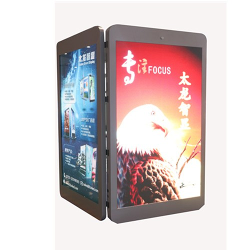 Double sides screen P3.846 /2.941/4.545/5.556 Outdoor mounted LED poster with light-box