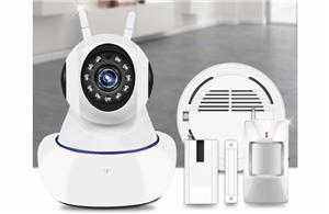 wifi Ip Camera alarm Kit