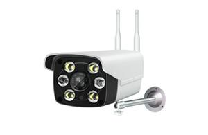 Outdoor Bullet Wifi Camera 6 Led Lamp
