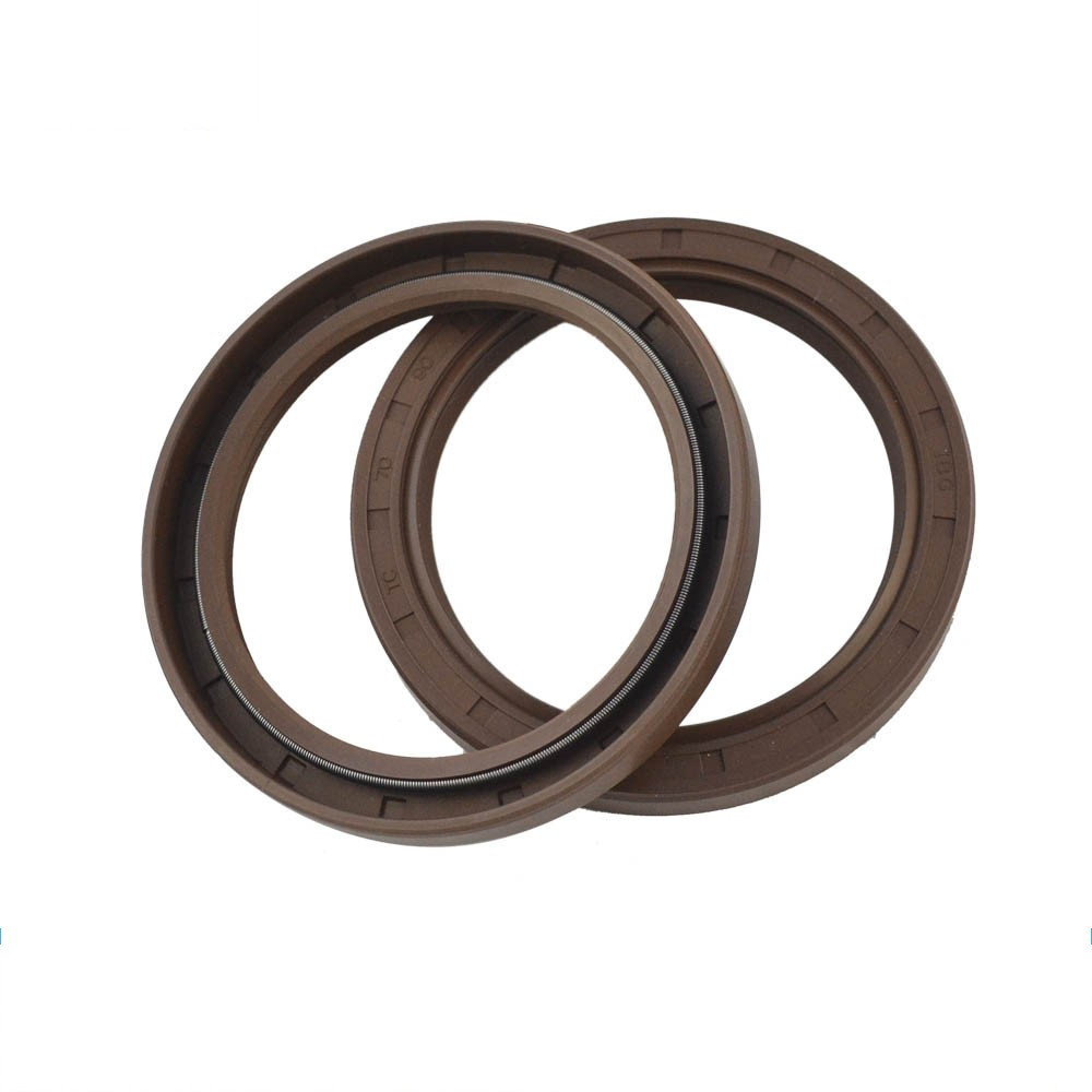 Metric Axis Chemical Resistance Energized FKM Rubber Spring Rings