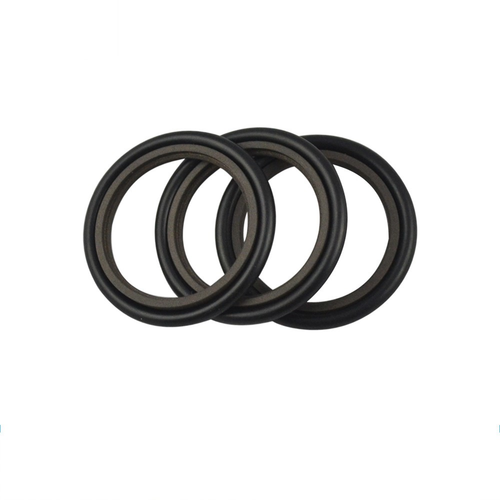 ISO/TS16949:2009 Wear Resistant Rotary Seal Pressure NBR And PTFE Step Rings