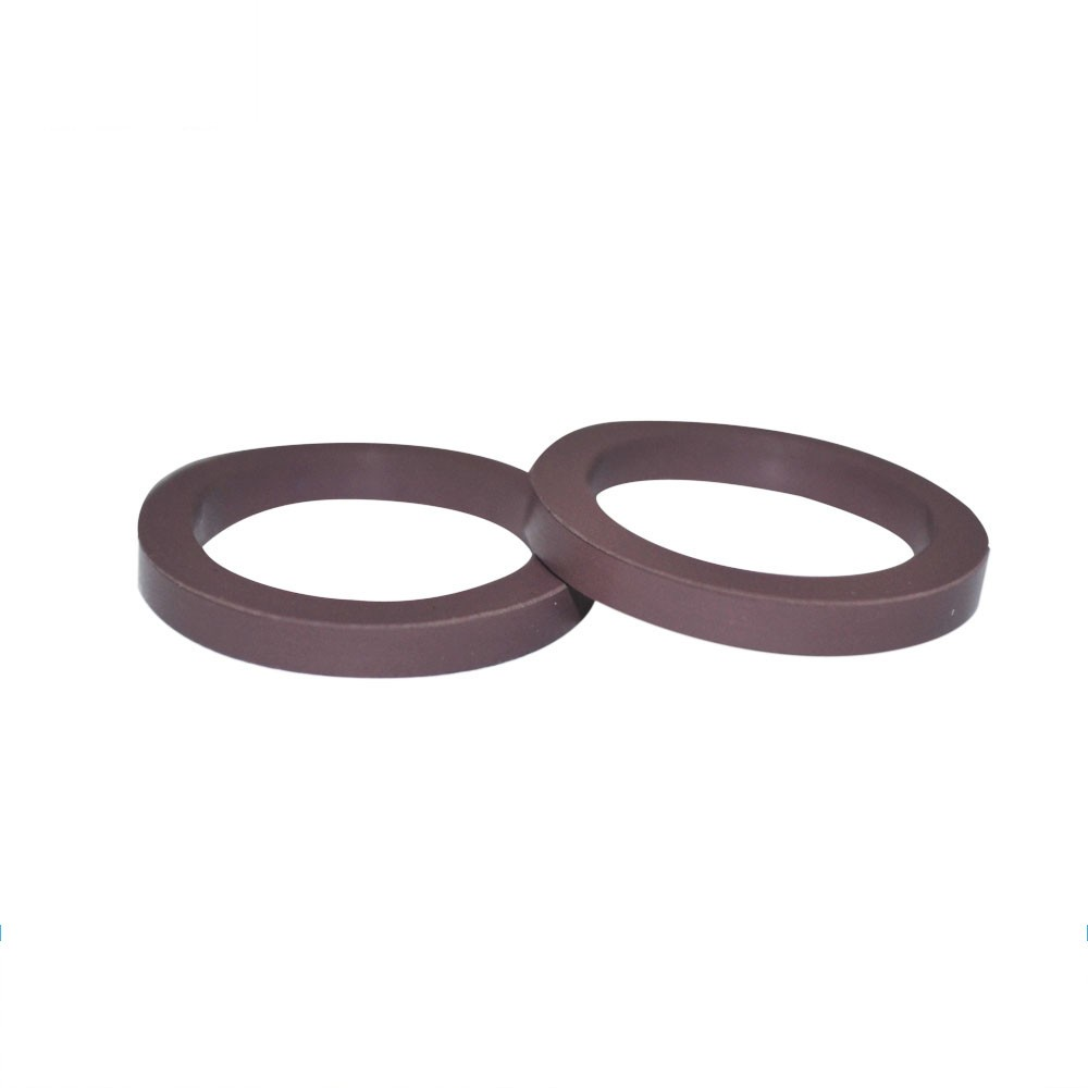 ISO/TS16949:2009 Custom Moulded Chemical Resistance Brown Viton Rectangle Ring