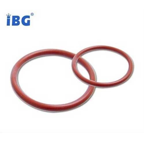 ISO9001:2008 Reliable Chemical Resistance Red Teflon Encapsulated Silicone O Rings