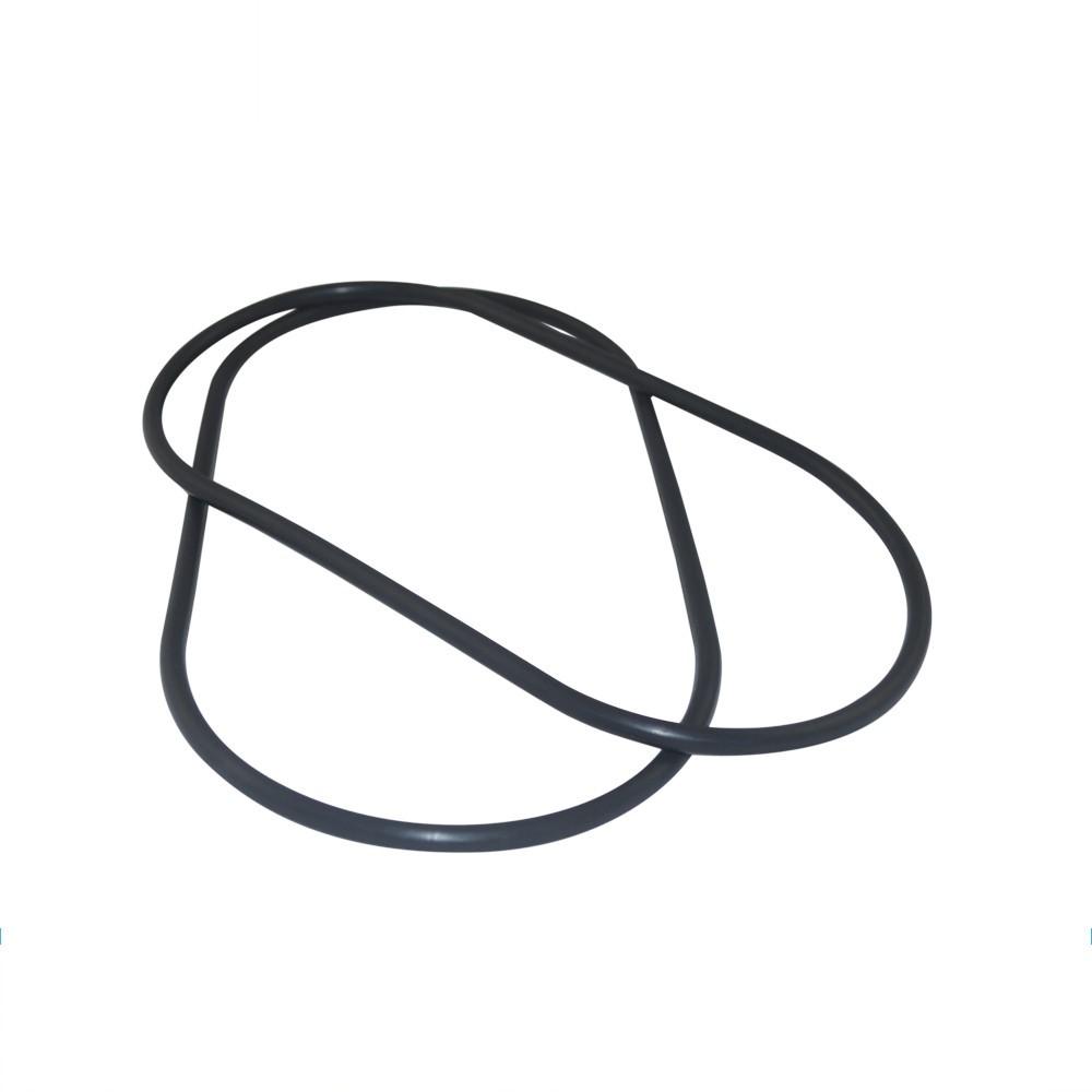 Custom molded VMQ/NBR/FKM/EPDM oval rubber gasket seals ring