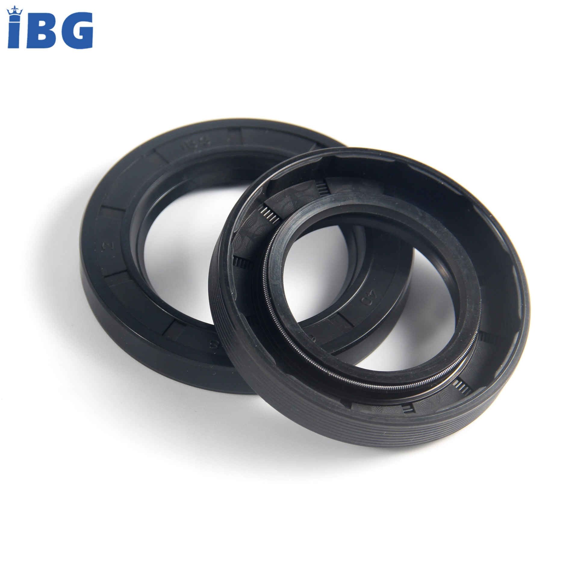 ISO9001/TS16949 high quality oil resistant spring energized NBR tc oil seal