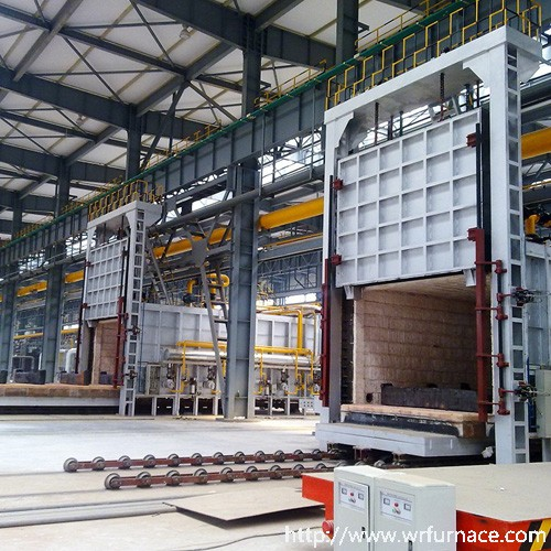 Gas Car Heat Treatment Furnace