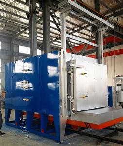 Type selection and use of atmosphere trolley furnace