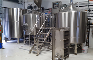 15BBL Turnkey Brewery equipment in Ontario Canada