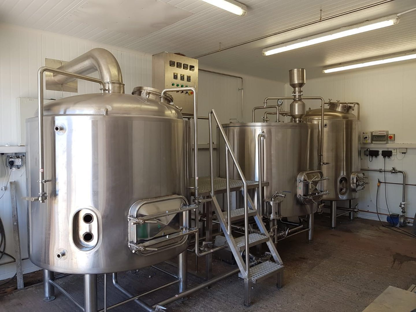 7BBL UK design brewhouse