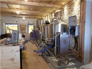 3.5BBL 2 Vessel Microbrewery Equipment was opened in Canada