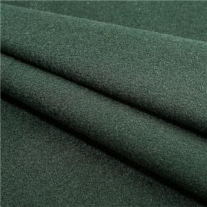 Woolen Overcoat Fabric Green