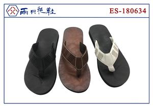 Flip flops with PU upper