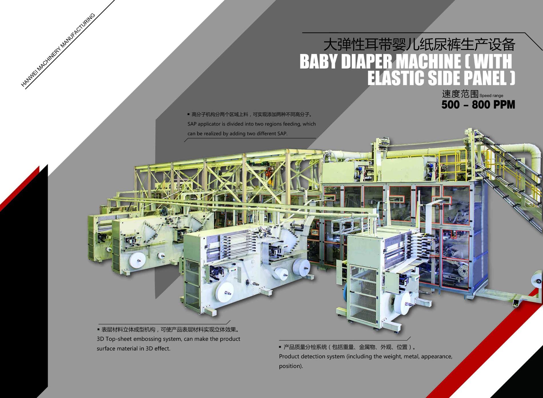 Baby Diaper Machine