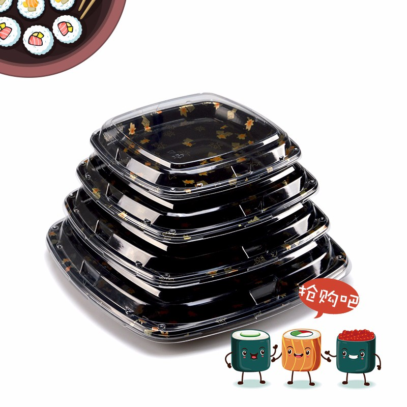 plastic sushi box disposal sushi box food sushi packaging box sushi box