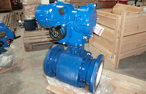 Trunnion Mounted Ceramic Ball Valves