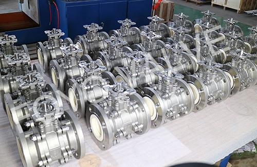 CEBA-Cast Body Full Lined Ceramic Ball Valve
