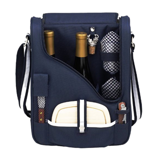 Wine And Cheese Picnic Bag