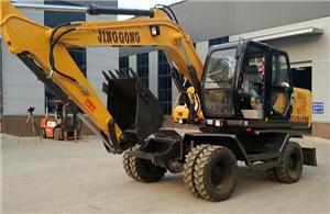 JG130S Wheel Excavator