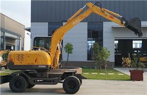 JG80S Wheel Excavator