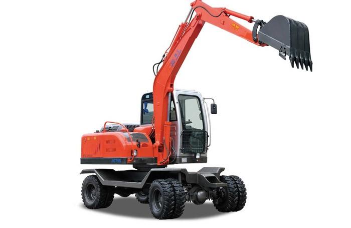 JG75S Wheel Excavator