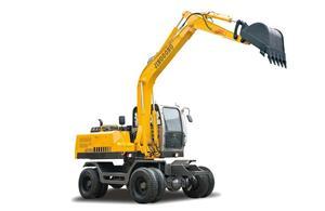 JG100S Wheel Excavator