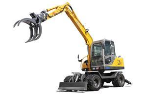 JG95Z Grapple Excavator