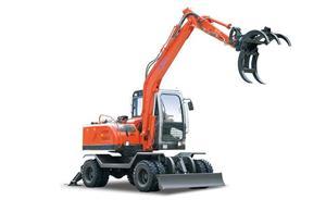 JG90Z Grapple Excavator