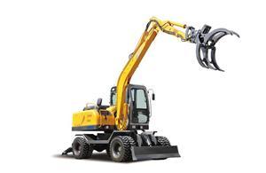 JG100Z Grapple Excavator