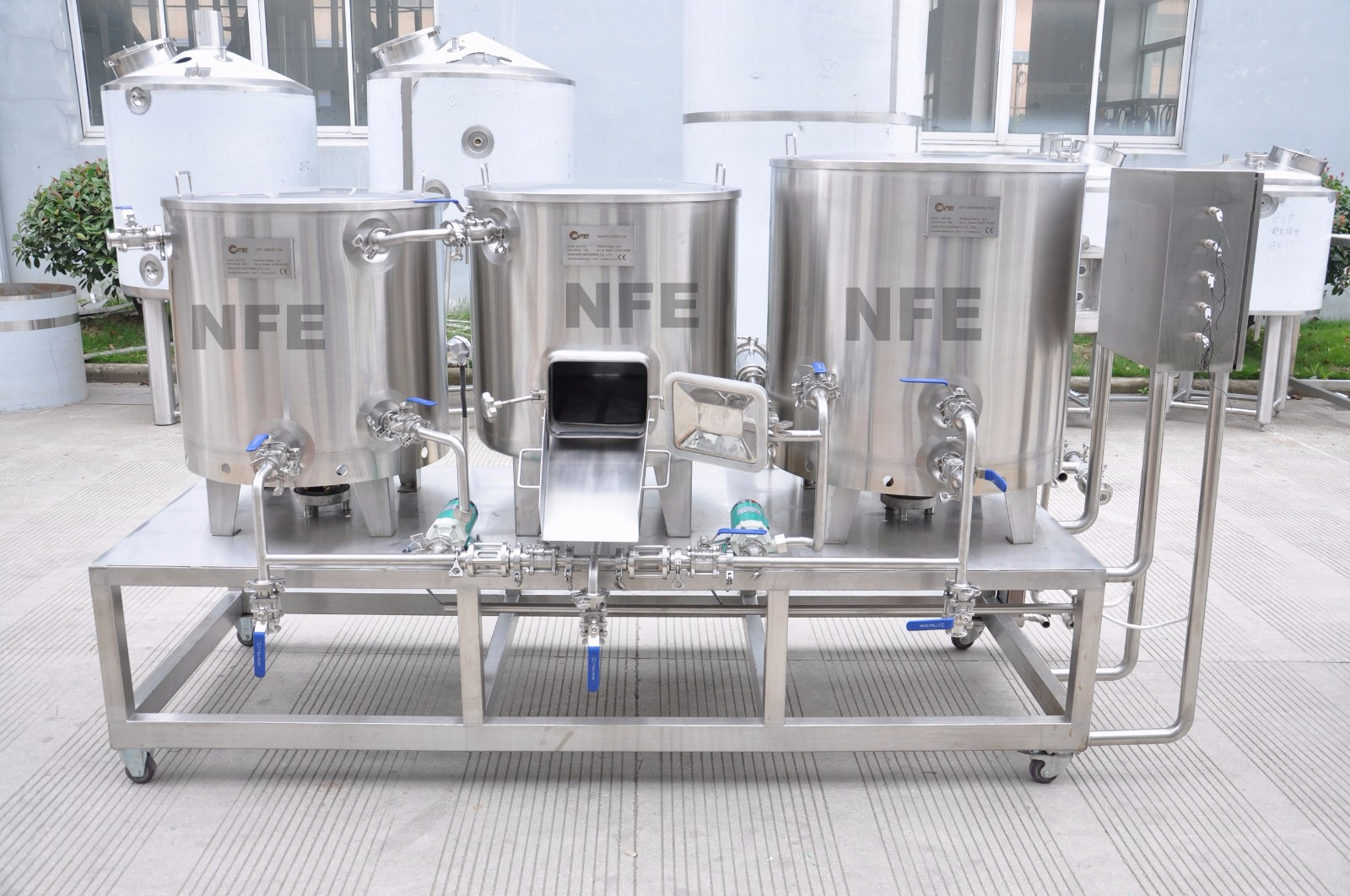 Supply 100l Nano Brewing Equipment Factory Quotes Oem