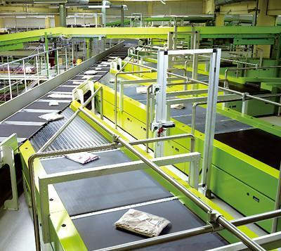 automated mail processing machines