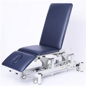Electric treatment bed