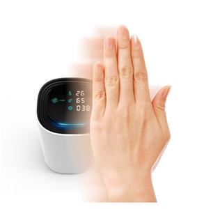 Gesture control desktop air purifier